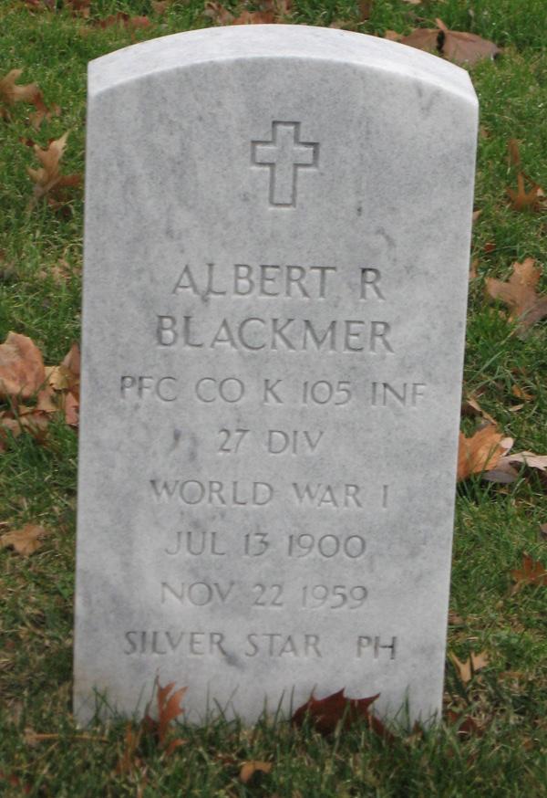 Albert R Blackmer