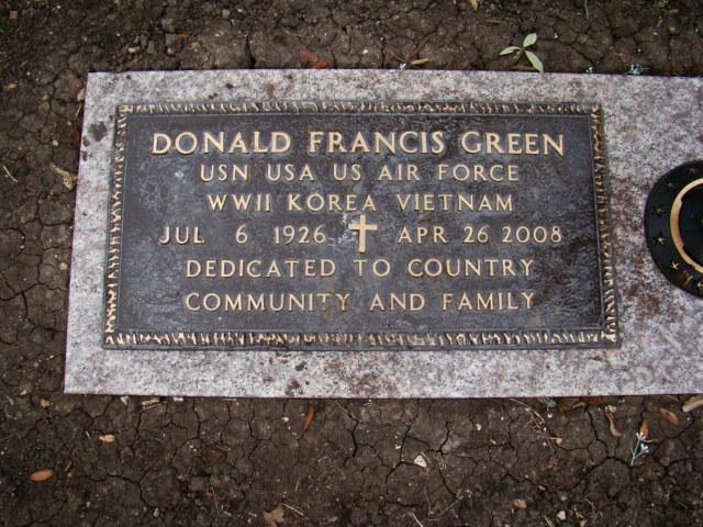 Donald Francis Green