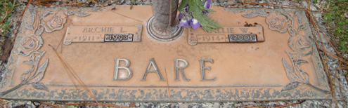 Willie Wilma <i>Carter</i> Bare