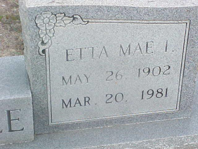 Etta Mae I. Baldree