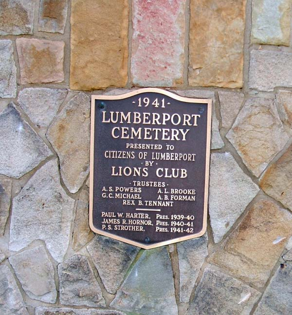 Lumberport Lions Club Cemetery