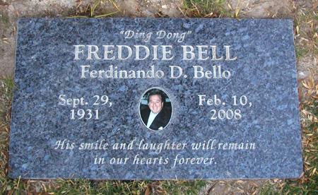 Freddie Bell