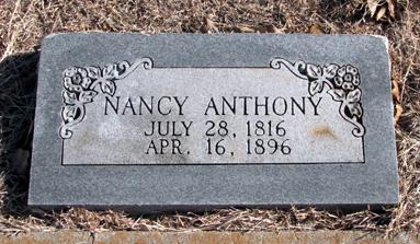 Nancy Catherine <i>Elmore</i> Anthony