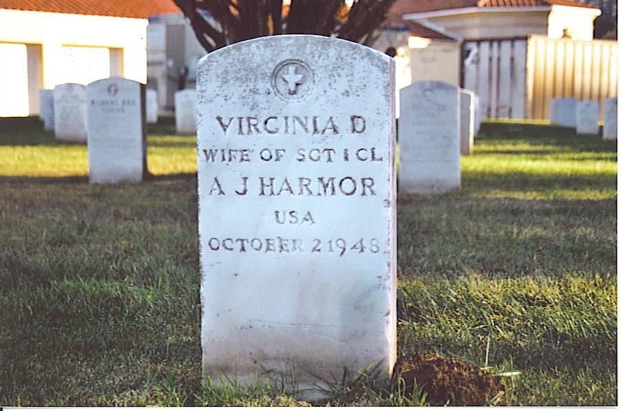 Virginia Agnes <i>Duffield</i> Harmor