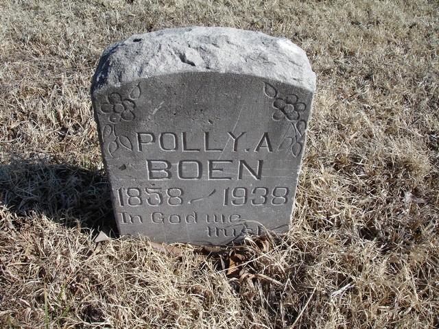 Polly Ann <i>Russell</i> Boen
