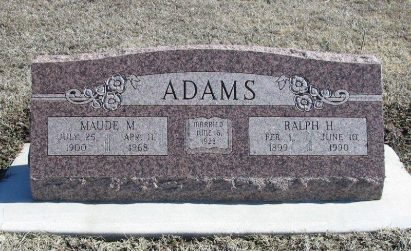 Nina Maude <i>Morgan</i> Adams