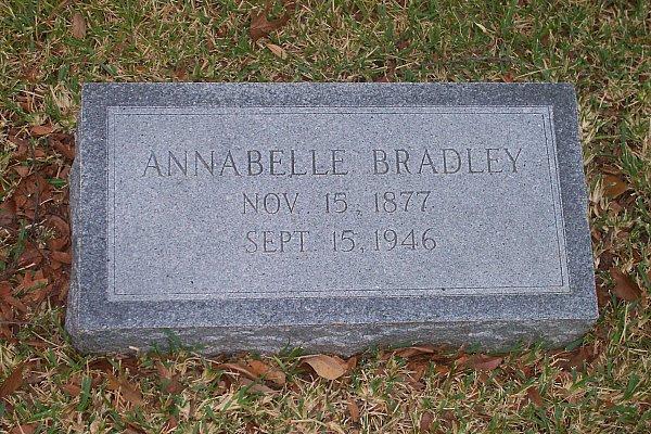 Anna Belle <i>Hocker</i> Bradley