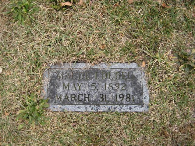 Maude Ivy <i>Recher</i> Dubel