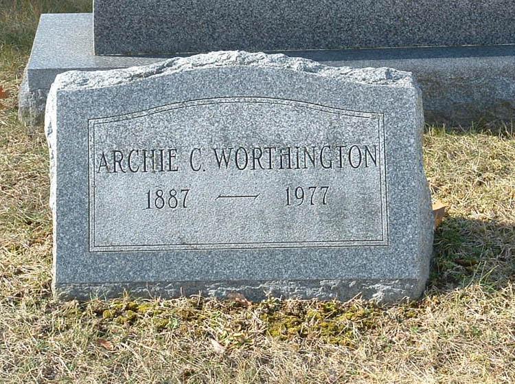 Archie C Worthington