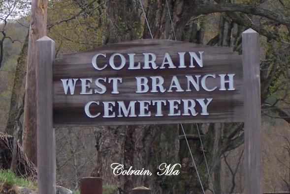 Colrain West Branch Cemetery