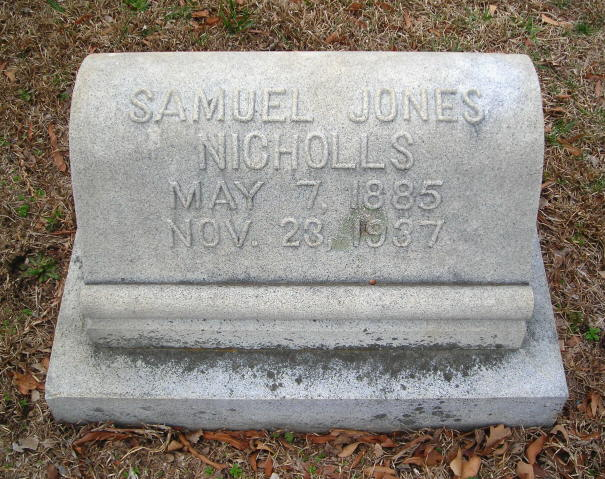 Samuel Jones Nicholls