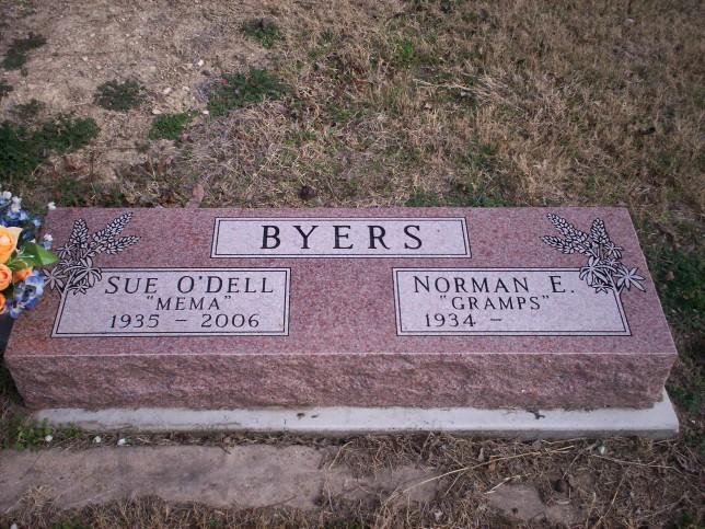 Sue <i>O'Dell</i> Byers