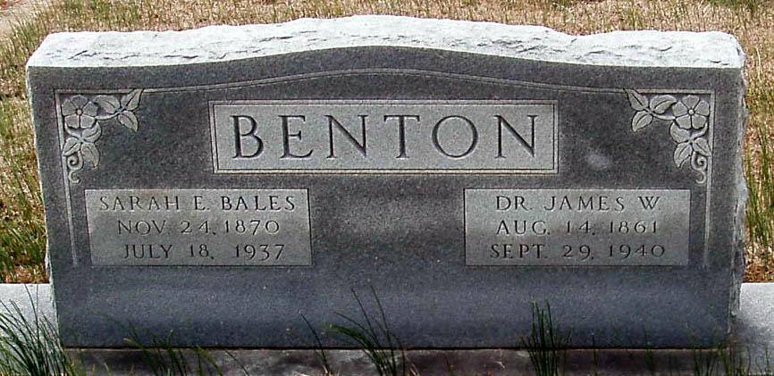 Dr James W. Benton