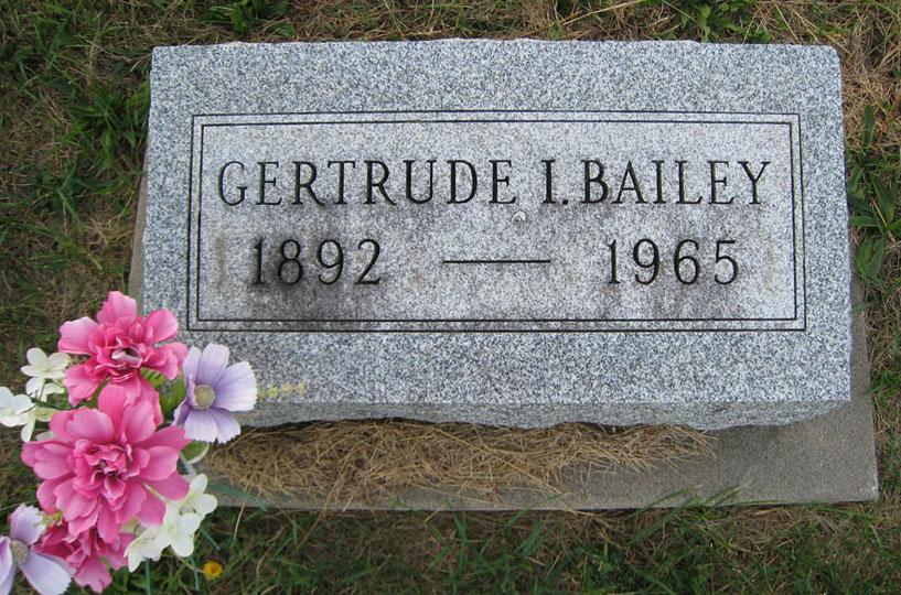 Gertrude I. <i>Black</i> Bailey