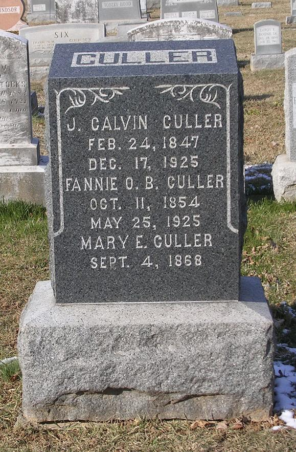 Josiah Calvin Culler