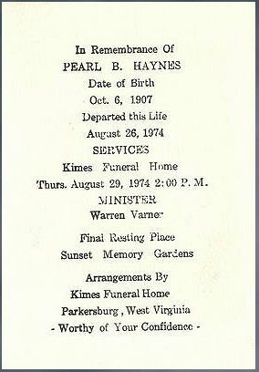 Pearl B. <i>Richards</i> Haynes