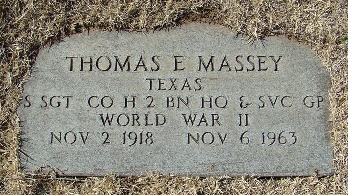 Thomas Earl Massey