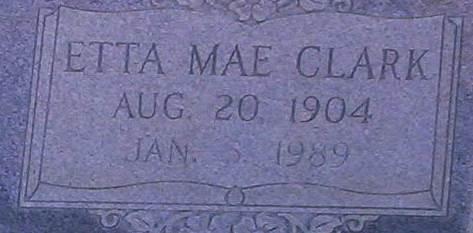 Etta Mae <i>Clark</i> Anderson