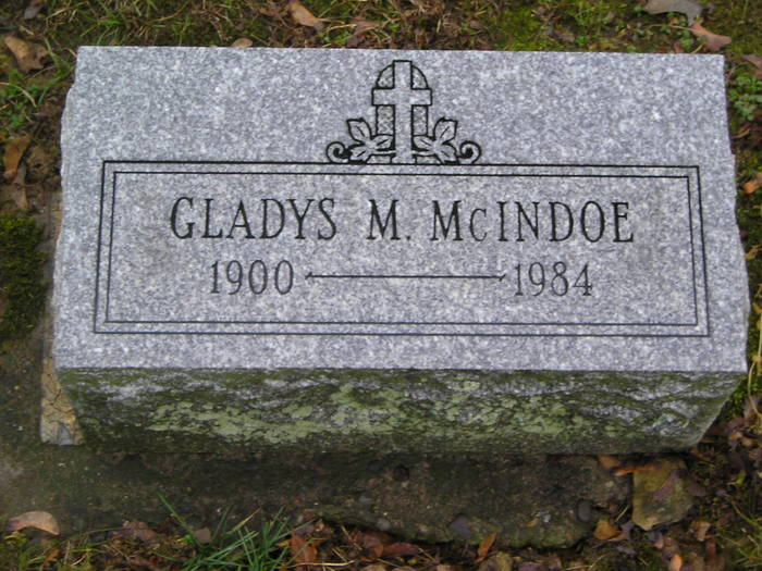 Gladys Marie <i>McCullough</i> McIndoe