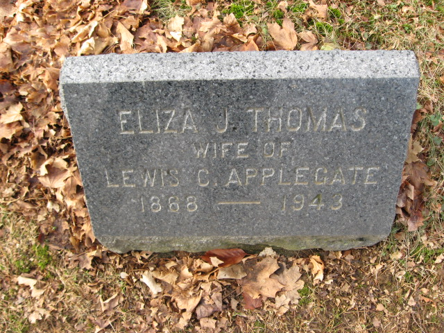 Eliza J <i>Thomas</i> Applegate