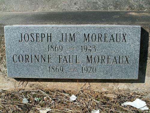 Joseph James Jim Moreaux