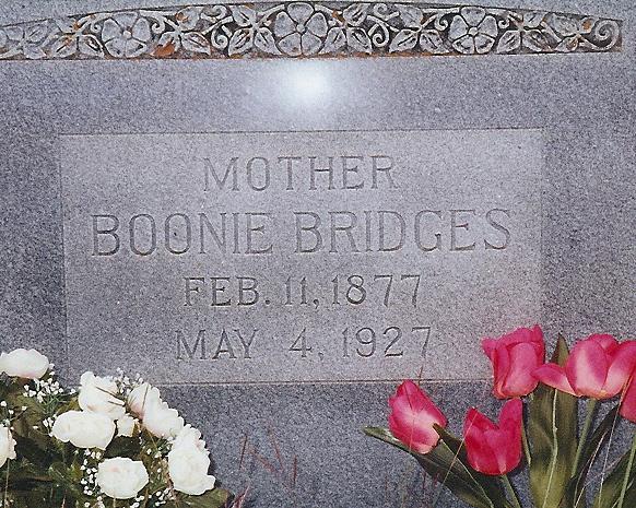 Boonie <i>Coffey</i> Bridges