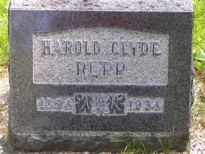 Harold Clyde Rupp