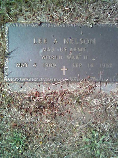 Maj Lee A. Nelson