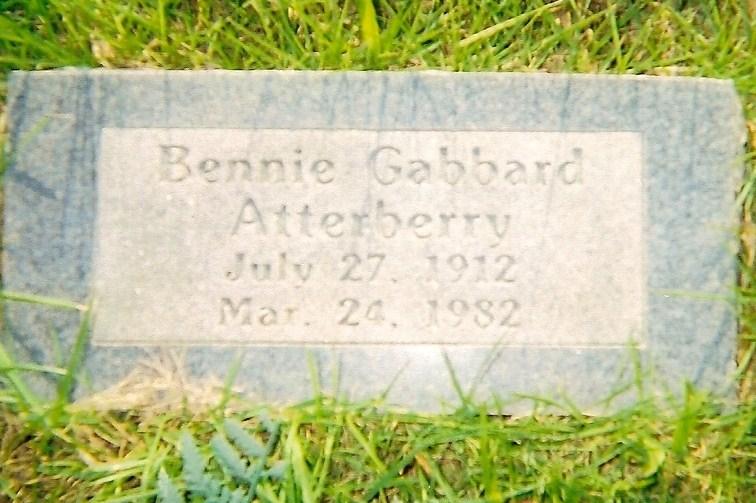 Bennie <i>Gabbard</i> Atterberry