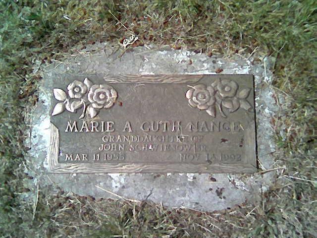 Marie A. <i>Cuth</i> Nance