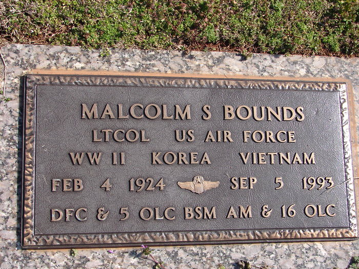 Malcolm S. Bounds