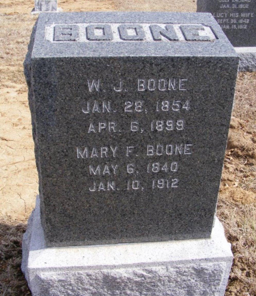 Mary Fannie <i>Morehead</i> Boone