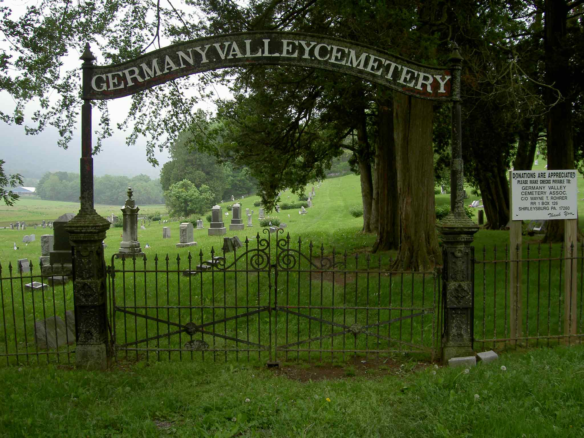 Germany Valley Cemetery