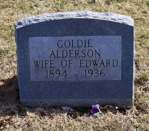 Goldie May <i>Norris</i> Alderson