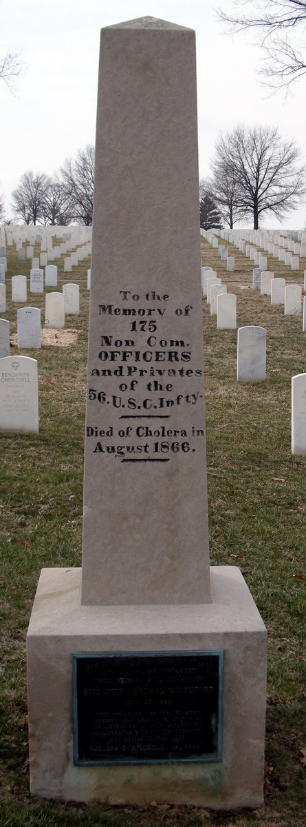 56th United States Colored Infantry Monument