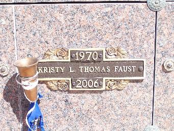 Kristy L <i>Thomas</i> Faust