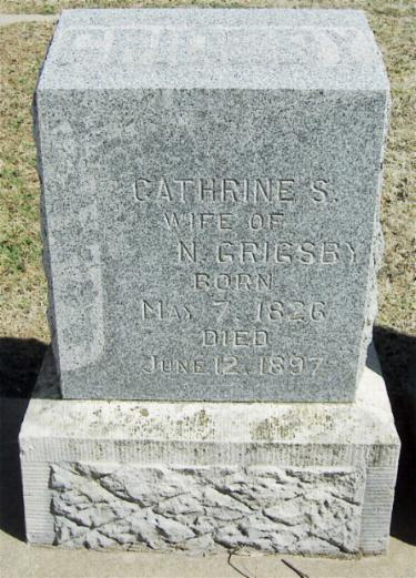 Catherine Susan <i>Powers</i> Grigsby