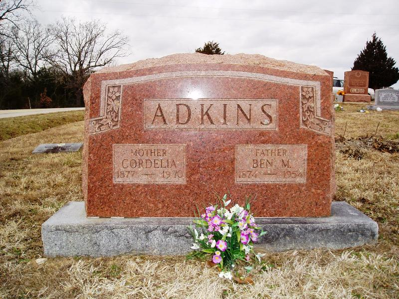 Cordelia Agnes <i>Armer</i> Adkins
