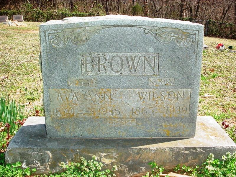 Ava Ann <i>Robinson</i> Brown