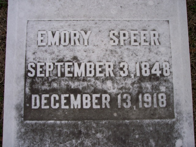 Emory Speer