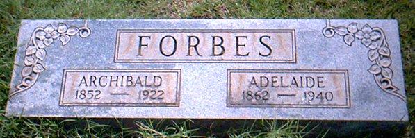 Archibald Edelbert Forbes