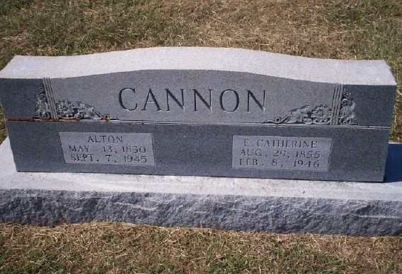Esther Catherine <i>Loveless</i> Cannon