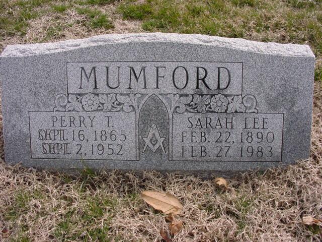 Perry Thomas Mumford