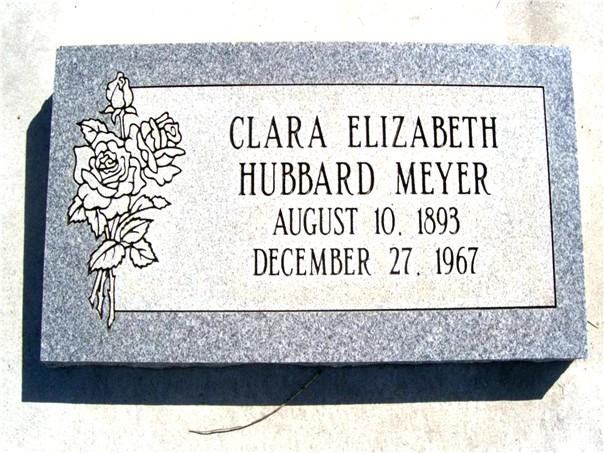 Clara Elizabeth <i>Hubbard</i> Meyer