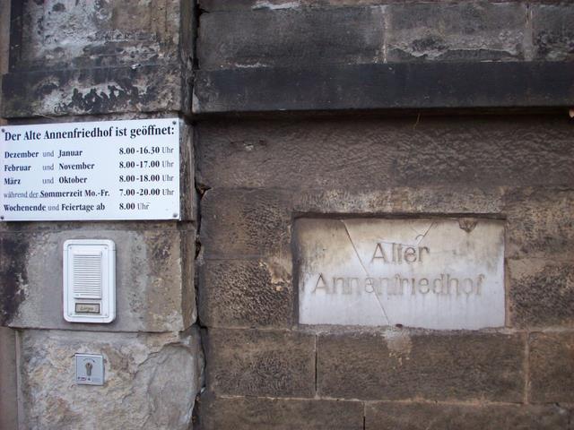 Alter Annenfriedhof