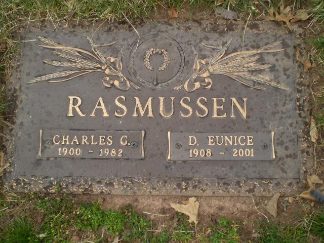 Dorothy Eunice <i>Olson</i> Rasmussen