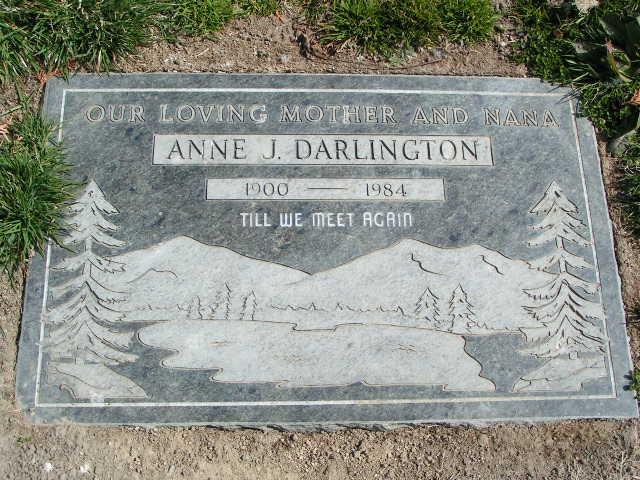 Anne Johanna Fredericka <i>Werner</i> Darlington