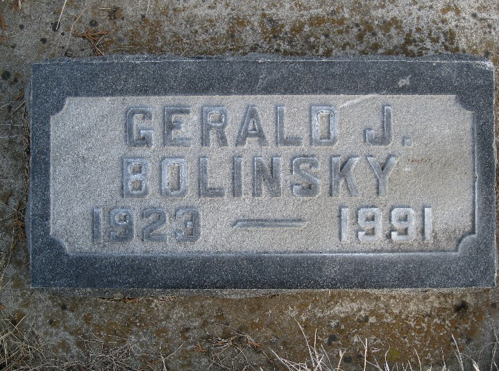Gerald Joseph Bolinsky