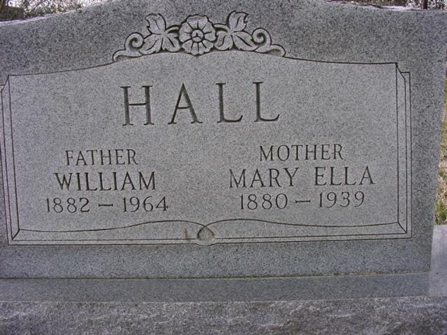 Mary Ella <i>Burns</i> Hall