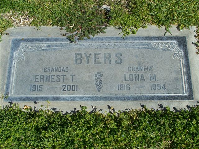 Lona Mildred <i>McClard</i> Byers